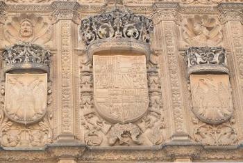 Fachada de la Univesidad de Salamanca